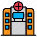 clinic, emergency, health, healthcare, hospital, medical icon