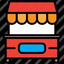 fastfood, food, restaurant, street icon