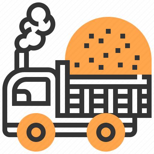 car, construction, transportation, truck icon
