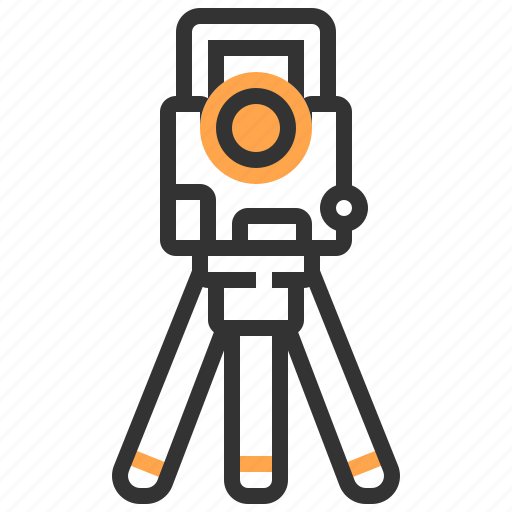 camera, construction, tool icon