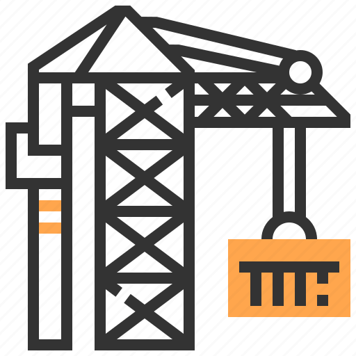Construction, crane icon - Download on Iconfinder