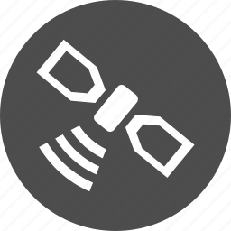 antenna, gps, location, navigate, navigation, radio, satellite icon