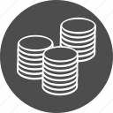 business, cash, coin, colums, currency, ecommerce, finance, financial, money, payment, shopping icon