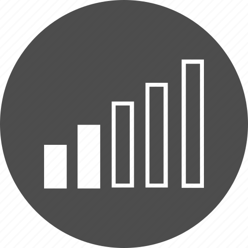 bar, bars, battery, chart, graph, growth, low, signal, strength, value, volume icon