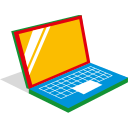 automation, office, computer, laptop icon