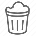 bin, clean, garbage, refuse, trash