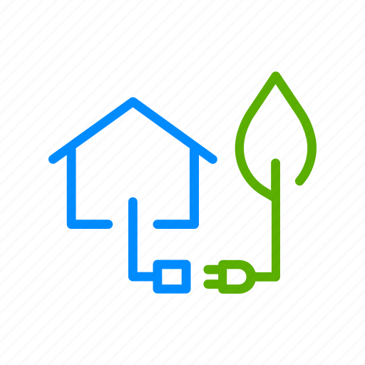 clean, eco, energy, green, home, house, renewable icon