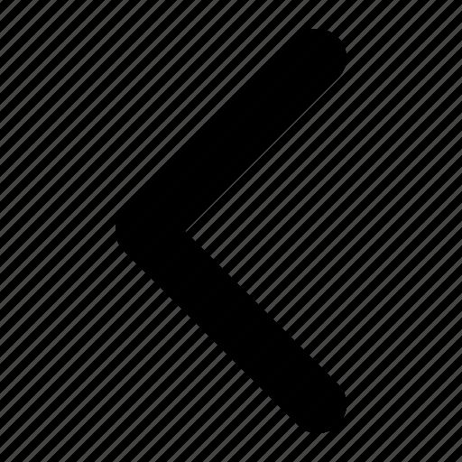 Back, minimal, return icon - Download on Iconfinder