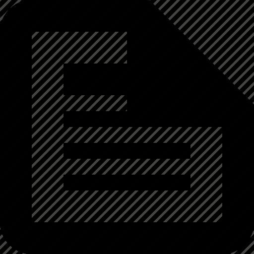 drafts, list, minimal icon
