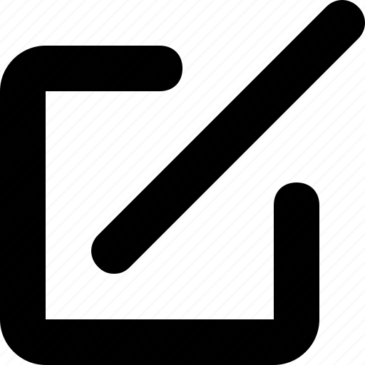 Edit, minimal icon - Download on Iconfinder on Iconfinder