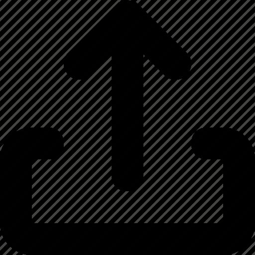 export, minimal icon