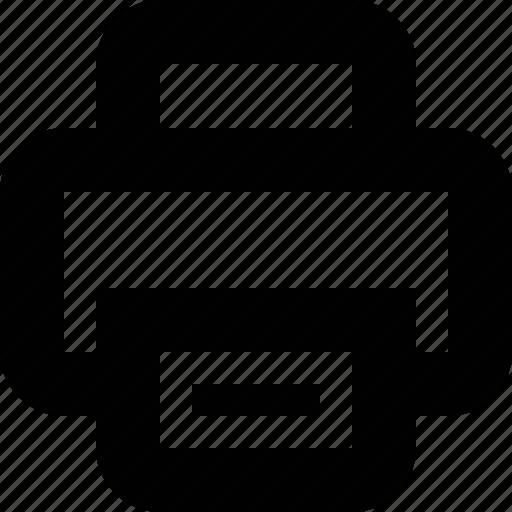 Minimal, print, printer icon - Download on Iconfinder