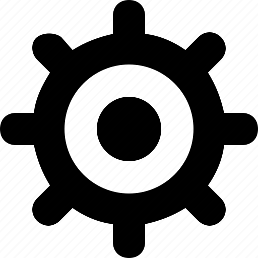 minimal, settings icon