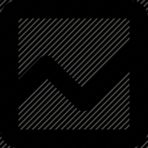 Graph, minimal, number, statistics icon - Download on Iconfinder