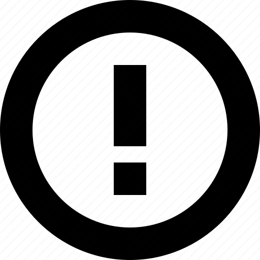 minimal, warn, warning icon