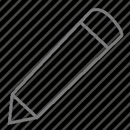 create, design, draw, edit, modify, pen, pencil icon