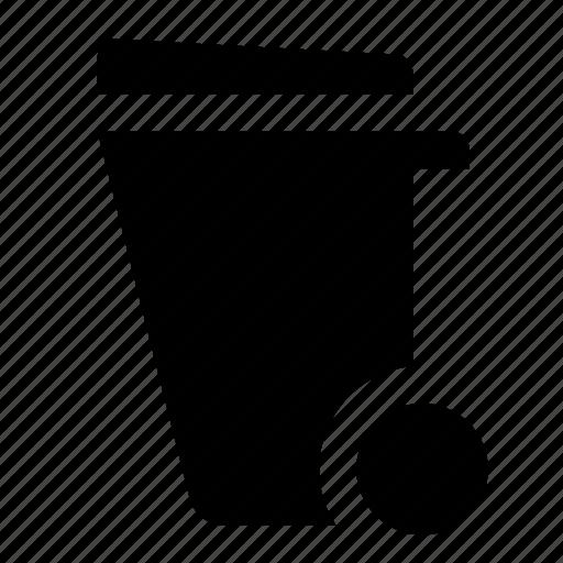 garbage, garbage bin, trash, trash bin icon