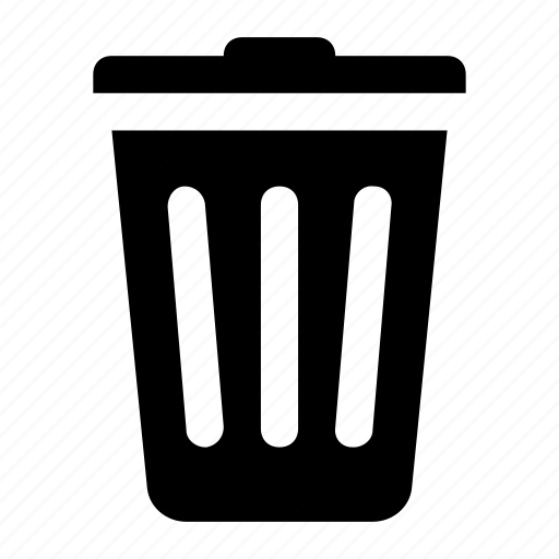 Delete, trash, trash bin, trash can icon | Icon search engine