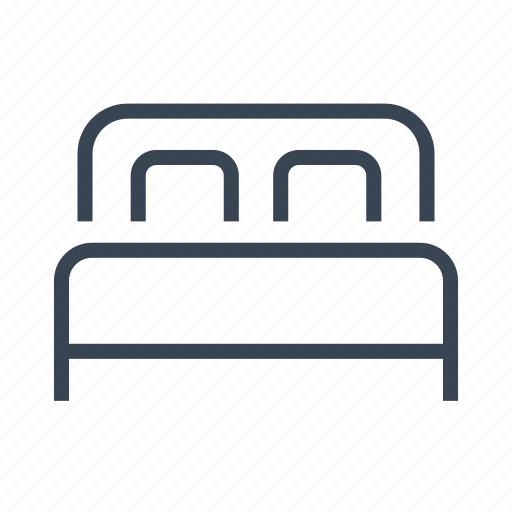 bed, bedroom icon