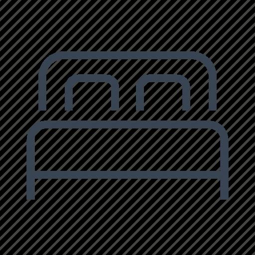 Bed, bedroom icon - Download on Iconfinder on Iconfinder