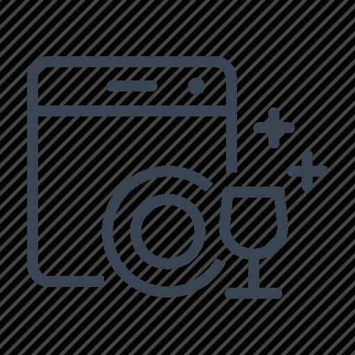 appliance, dishwasher, household, kitchen icon