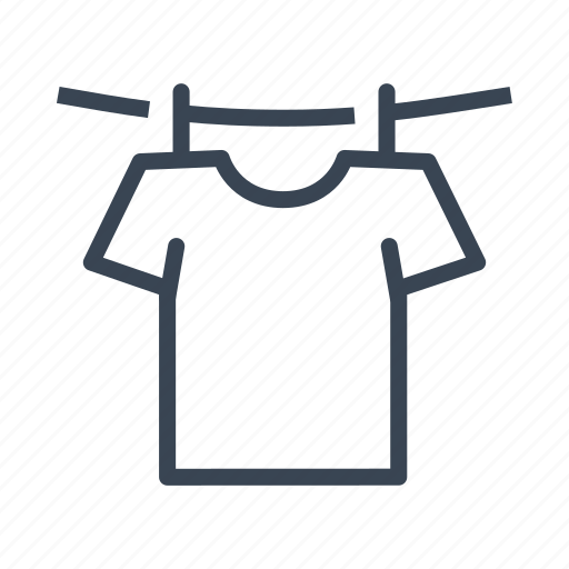 Clothes, clothesline, dry, washing icon - Download on Iconfinder