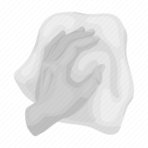 cleaning, cloth, gesture, hand, maid, washing icon