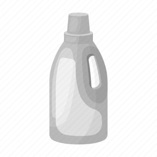 bottle, cleaning, detergent, washing icon