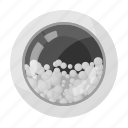 detergent, equipment, foam, machine, washing icon