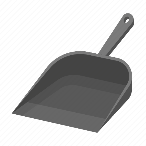 Equipment, tools, cleaning, garbage, scoop icon
