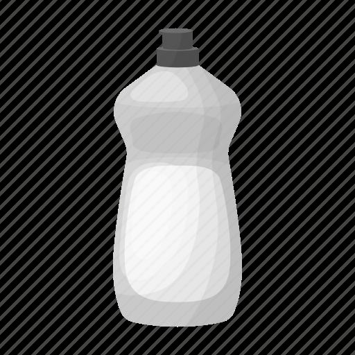 bottle, detergent, disinfection, hygiene icon