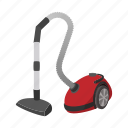 carpet, cartoon, cleaner, home, modern, vacum, vacuum icon