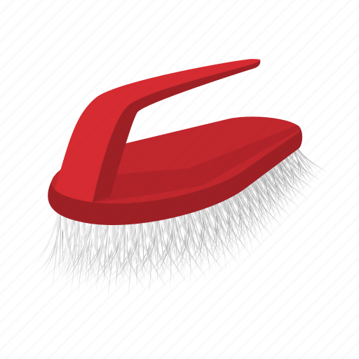 brush, cartoon, cleaning, equipment, household, housework, tool icon
