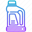 bottle, clean, liquid, wash icon