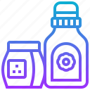 bottle, clean, detergent, liquid, wash icon