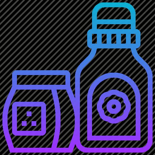 bottle, clean, detergent, liquid, wash icon