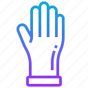 clean, glove, hand, wash icon