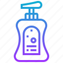 bottle, clean, liquid, soap, wash icon