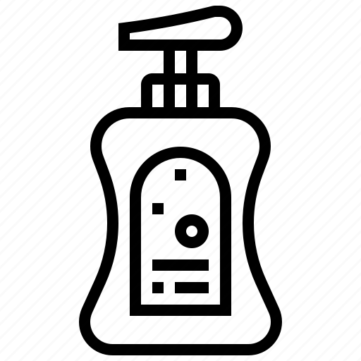 bottle, clean, liquid, soap, wash icon