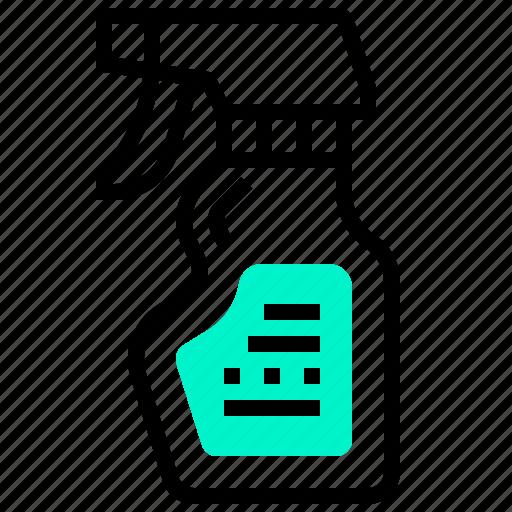 Bottle, clean, spray, wash icon - Download on Iconfinder