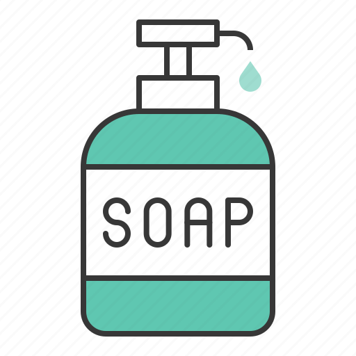 clean, cleaning, cleaning equipment, equipment, housekeeping, soap, soap bottle icon