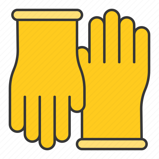clean, cleaning, cleaning equipment, equipment, glove, housekeeping, rubber glove icon