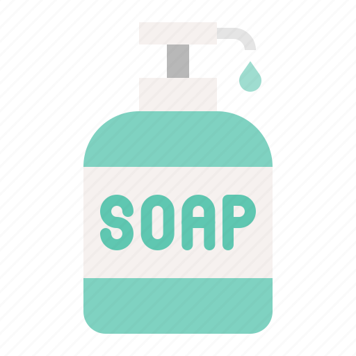 Cleaning, cleaning equipment, equipment, housekeeping, soap, soap bottle icon - Download on Iconfinder
