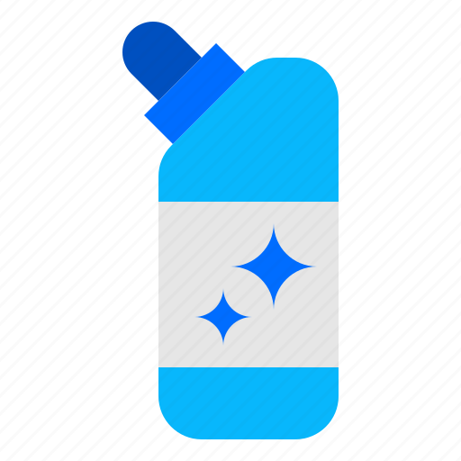 Bleach, chemical, cleaning icon - Download on Iconfinder