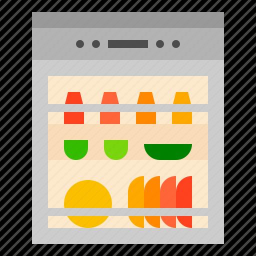 cleaning, dishwasher, machine icon