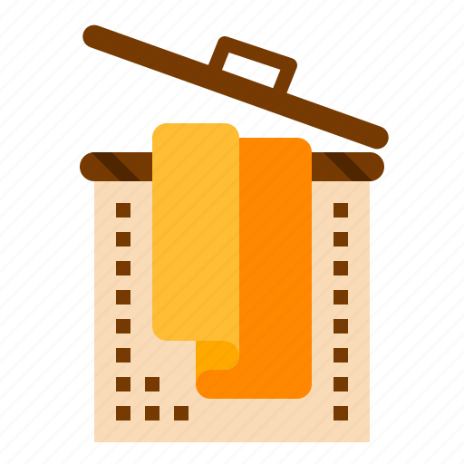 basket, cleaning, laundry icon