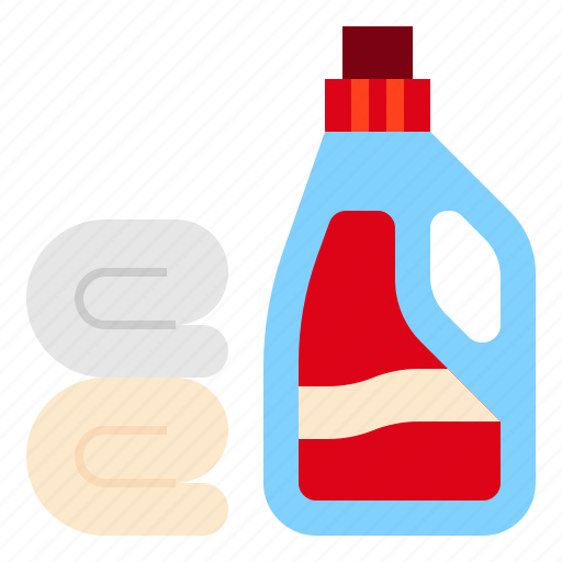 cleaning, laundry, softener icon