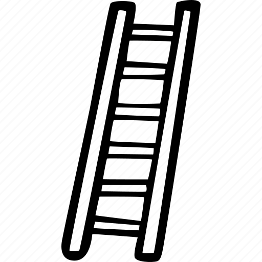 climb, ladder, support, top, up icon