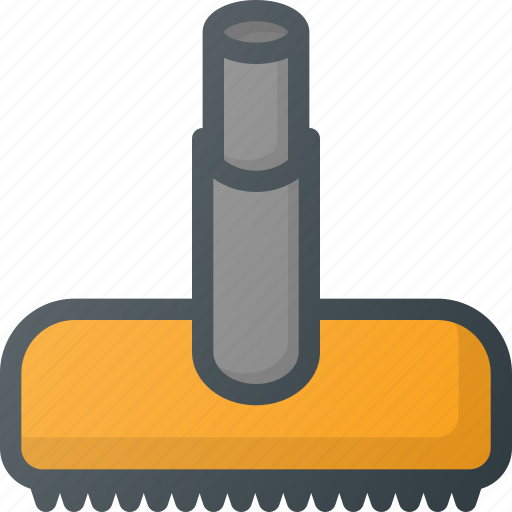 brush, cleaner, cleaning, dust, tool, vacuum icon
