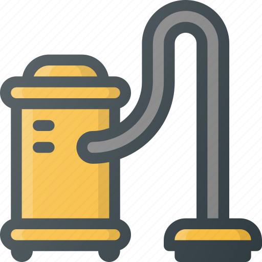 cleaner, cleaning, hoover, housekeeping, interior, vacuum icon